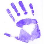 Hand-Purple